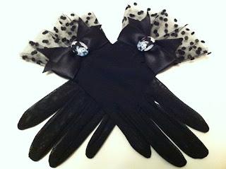 Audrey Hepburn siyah tül eldiven satın al