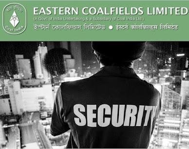 Eastern Coalfields Limited Recruitment - Security Guard