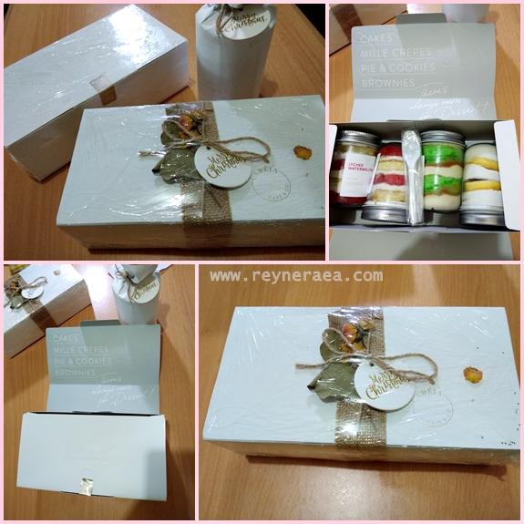 cake in jar by Lareia cake & co