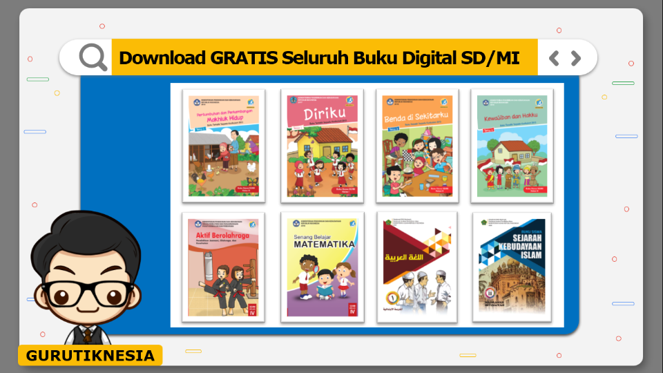 download gratis seluruh buku digital sd & mi