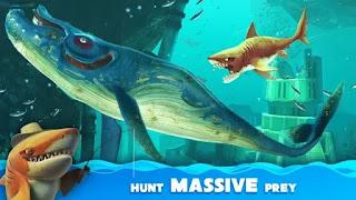 download game hungry shark world mod apk offline