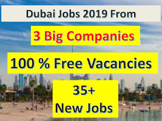 dubai jbos 2019, Jobs In Dubai for Indians