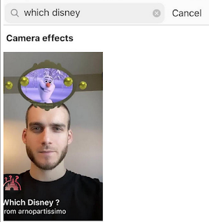 Cara mendapatkan instagram disney filter untuk mendapat filter karakter Disney di Instagram