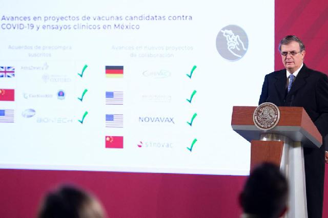 México presenta avances para garantizar el acceso oportuno a la vacuna contra el COVID-19