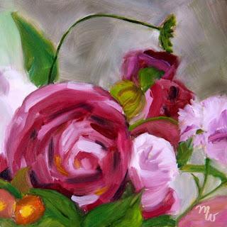 Flower Garden by Merrill Weber