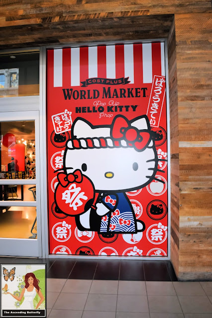 Cost Plus World Market Hello Kitty Pop Up Shop, #WorldMarketxHelloKitty