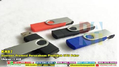 Souvenir Promosi Perusahaan Flashdisk OTG Putar