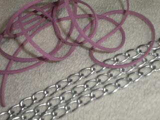 DIY - bransoletka z łańcuszka