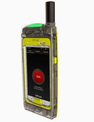 SATcase turns your smartphone into a satellite phone