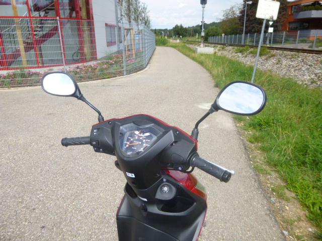Roller Honda Vision 110 - der Lenker