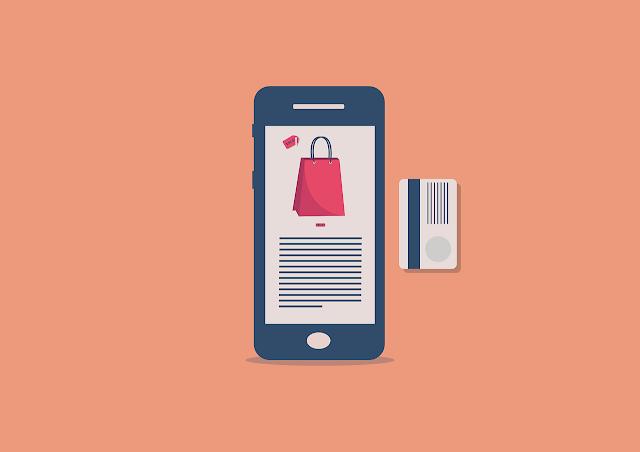 aplikasi marketplace terinstal dalam ponsel