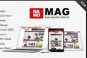 NanoMag v1.0 – Responsive Blog & Magazine Blogger Template