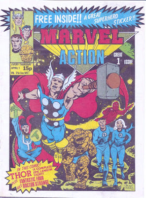 Marvel Action #1, April 1981