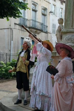 bourg-en-bresse visite nocturne théâtralisée