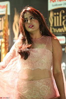 Nidhi Subbaiah Glamorous Pics in Transparent Peachy Gown at IIFA Utsavam Awards 014.JPG