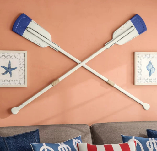 Buy Decorative Painted Oar Paddles for Wall Decor