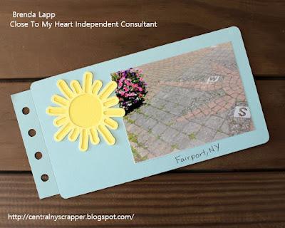 Mini Album for Happiest Place Blog Hop Page 3