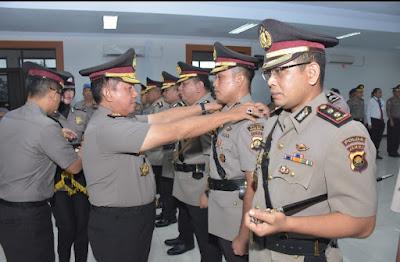 Kapolda Jambi Pimpin Langsung Sertijab Pejabat Utama Dan Dua Kapolres Jajaran Polda Jambi