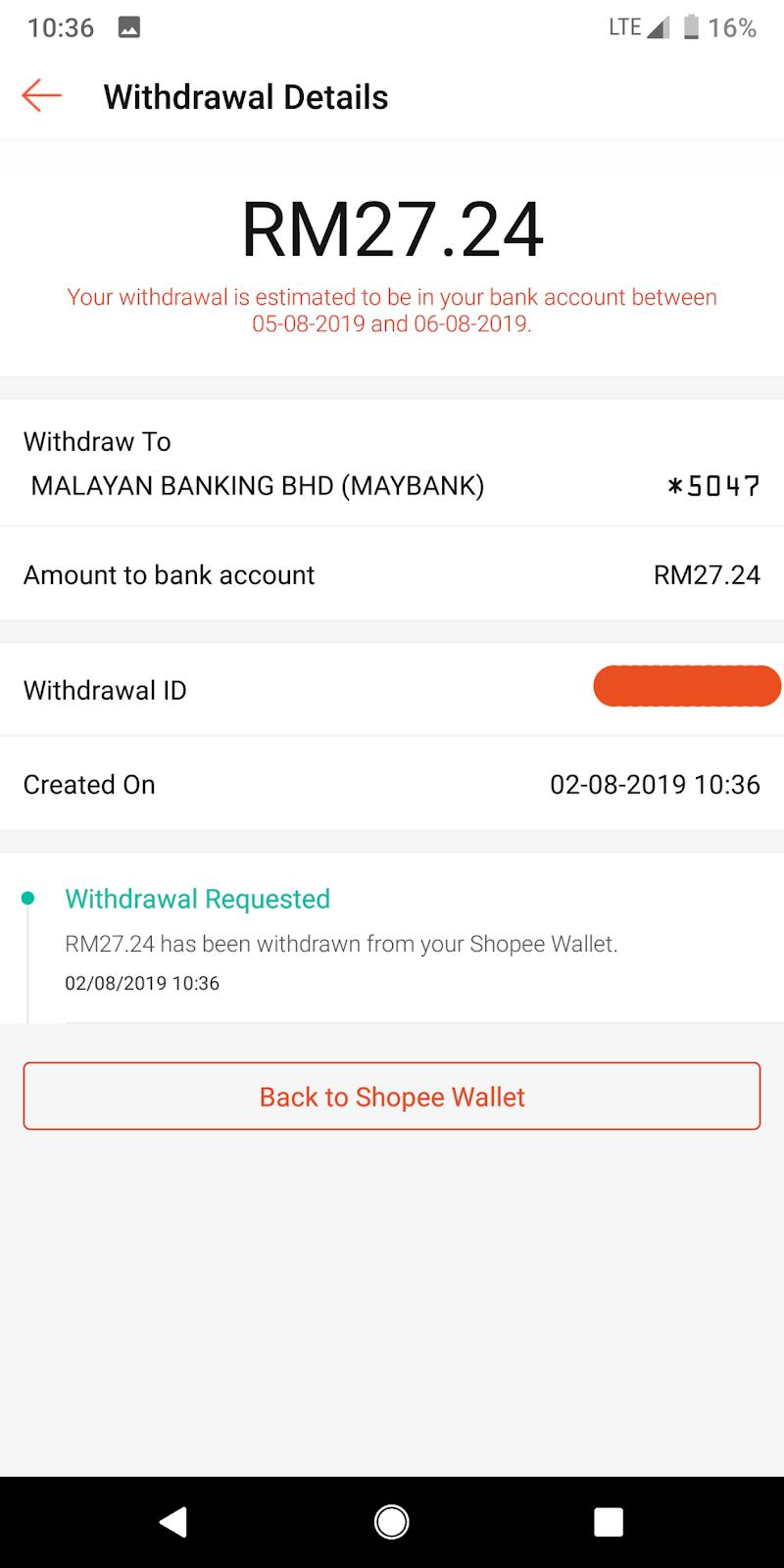 Cara Melakukan Proses Refund Dan Withdrawal Di Shopee