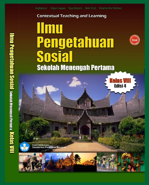 Download Buku Siswa KTSP SMP dan MTs Kelas 8 Edisi 4 Ilmu Pengetahuan Sosial