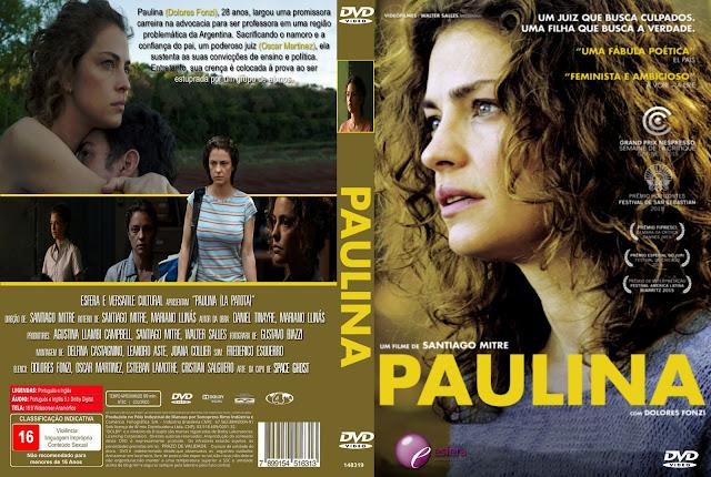 Capa DVD Paulina