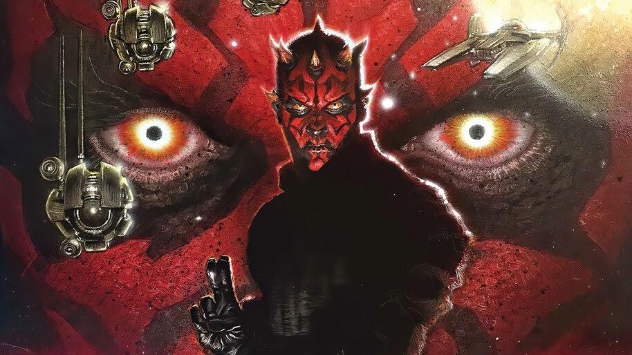 Darth Maul, Lightsaber, Star Wars, 4K, #4.3102
