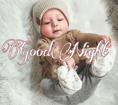 cute baby good night image pics photo hd download