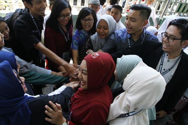 Relawan Kelas Inspirasi Surabaya 5 di SDI Raden Patah