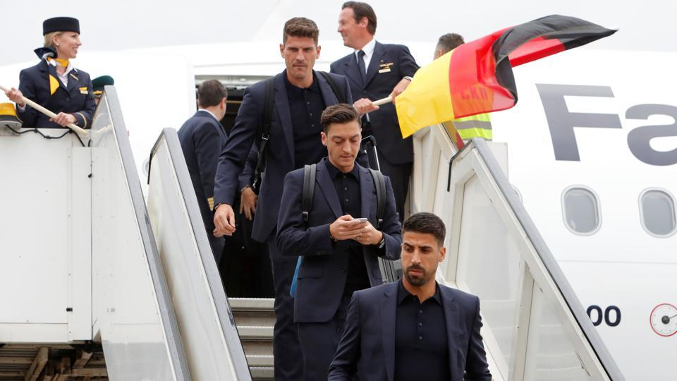 World Cup 2018: Defending Champions Germany Arrive In ...