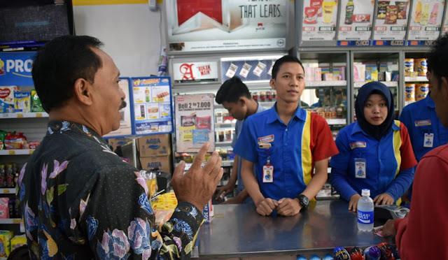 Pengawasan di toko modern terkait Perbup Nomor 56/2019