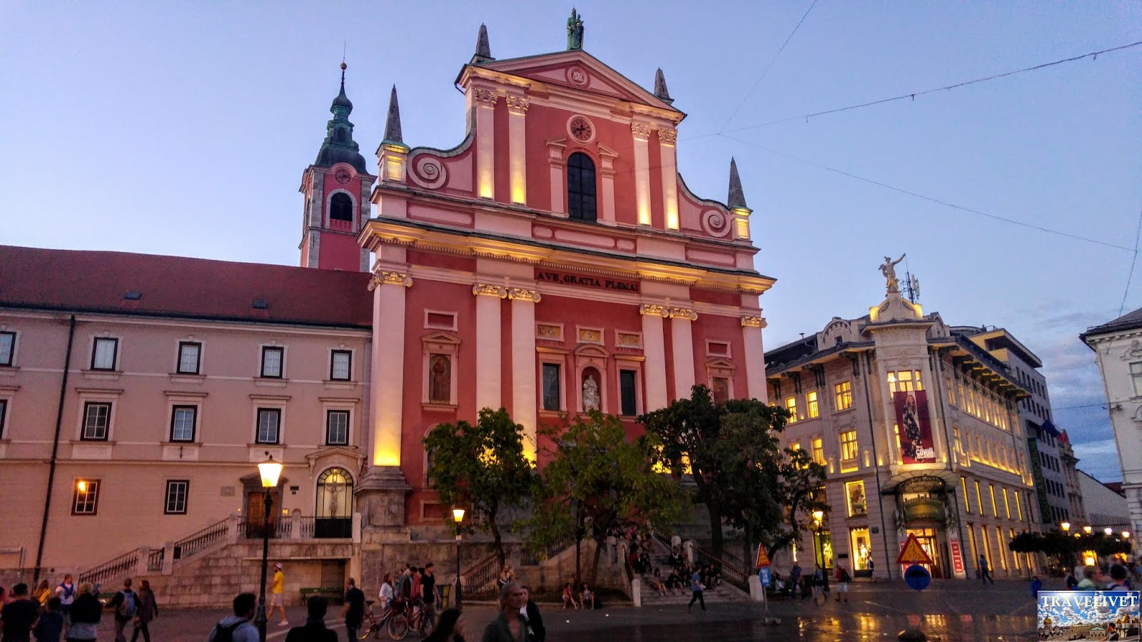 slovénie Ljubljana Place Perseren