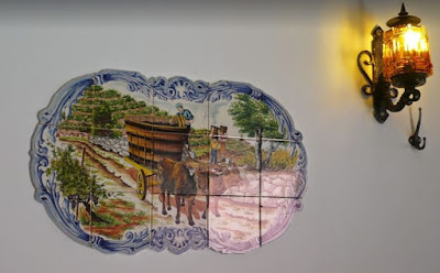 azulejos ristorante Lisbona