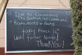 restaurant covid closure image news