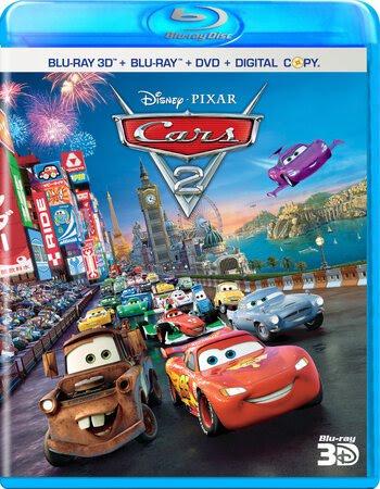 Cars 2 (2011) Dual Audio Hindi 720p BluRay x264 900MB ESubs Movie Download