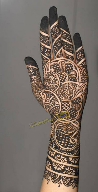 Perfect & Stunning Bridals New Mehndi Designs For Bride