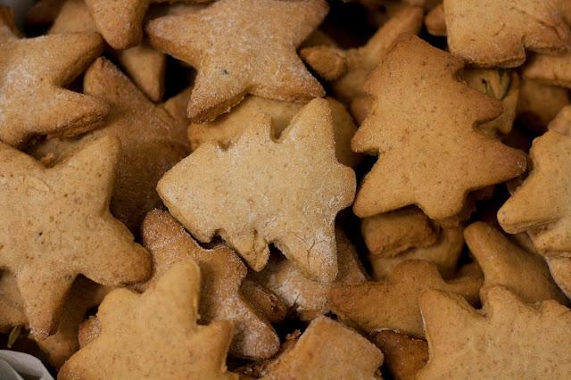 Новорічне імбирне печиво з прянощами