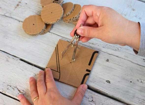 macetero, escultura, cartón, reciclar, manualidades