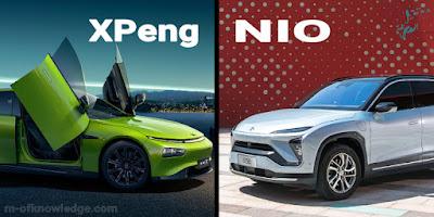 نيو Nio و إكس بانغ XPeng الصينيتان لصناعة السيارات الكهربائية EV تعززان حضورهما من خلال تسليمات قياسية !