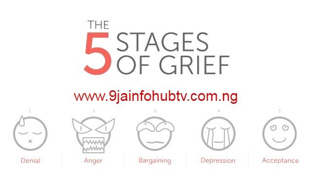 The Kübler-Ross model (five stages of grief)