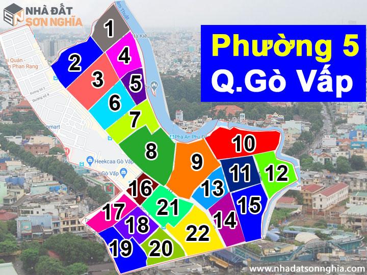 Thông tin quy hoạch bản đồ phường 5 quận Gò Vấp