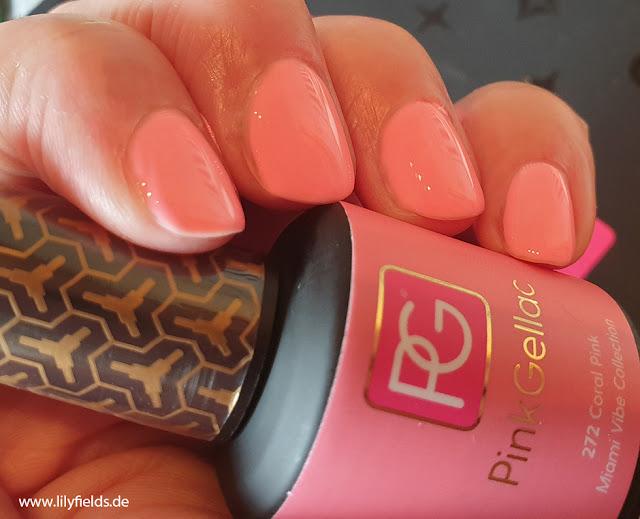 Pink Gellac - 272 Coral Pink - UV Nagellack