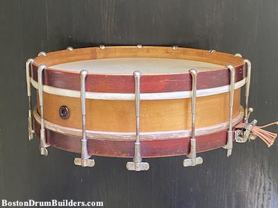 1910s George B. Stone Thumbscrew Rod Orchestra Drum