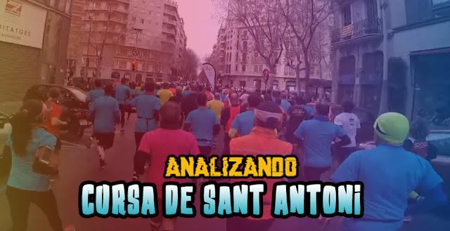 Analizando Cursa de Sant Antoni 2017