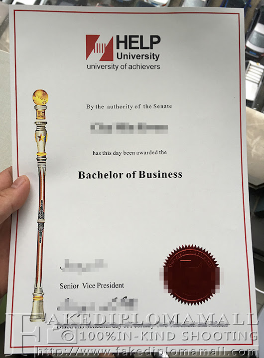 Bachelor degree from Help University College from Malaysia