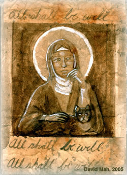 Grace Elliot - blog.: Saint Julian of Norwich and her Cat