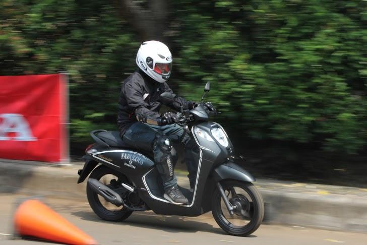 Rangka eSAF Honda Genio Untuk Kelincahan
