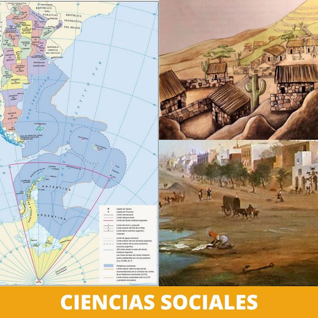 Ciencias sociales: material de la DGCYE 2021