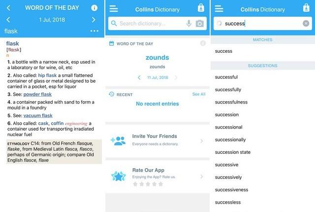 أفضل تطبيق قاموس للايفون