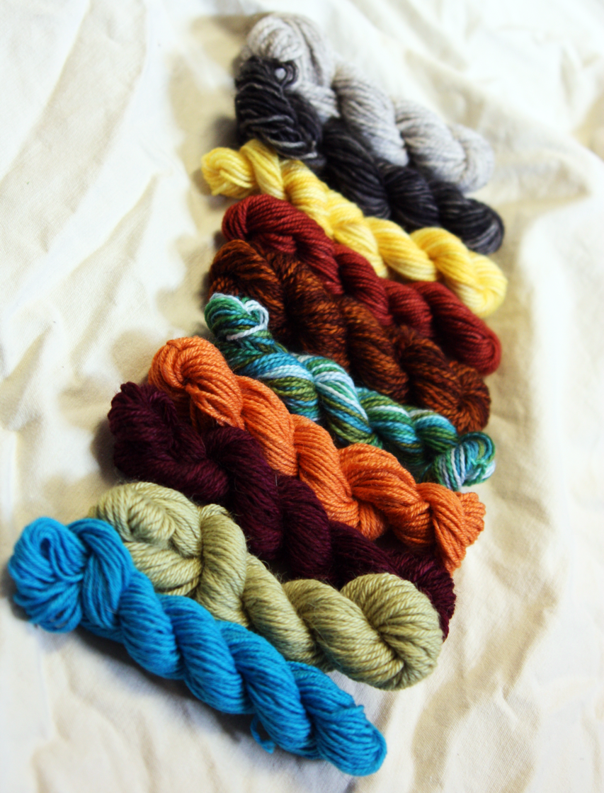 Handmade By Stefanie Mini Skeins Are Back