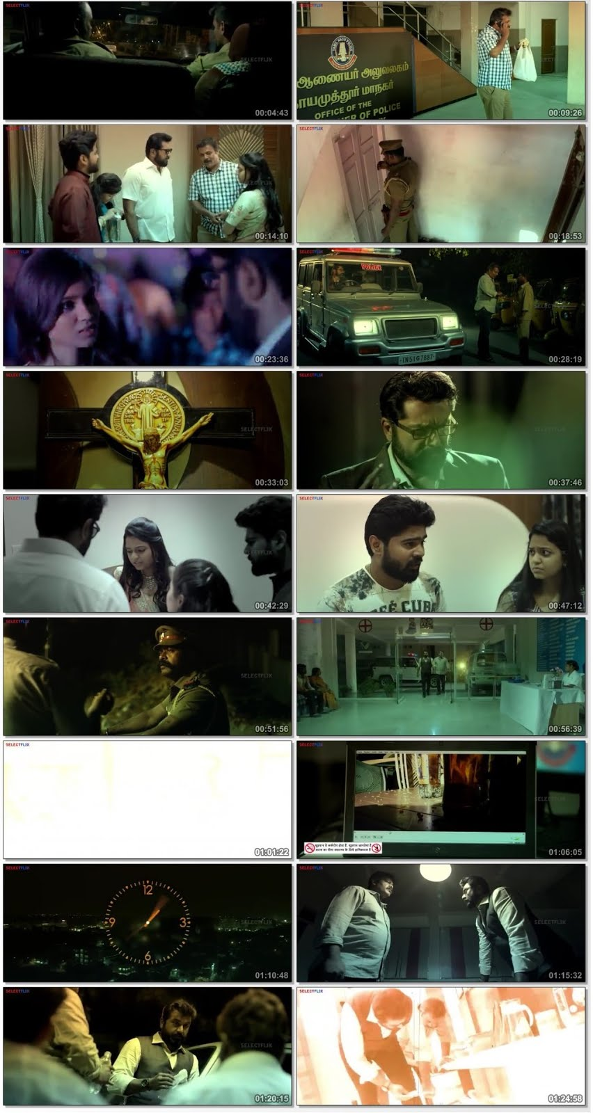 24 Ghante in Chennai 2018 Hindi Dubbed Download 480p